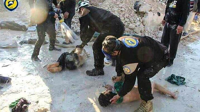 Chemickému útoku v Sýrii dosud podlehlo sto lidí