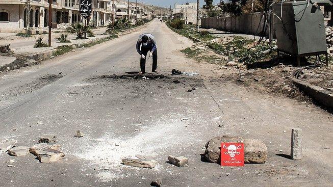 Vyšetřování chemického útoku v Idlibu