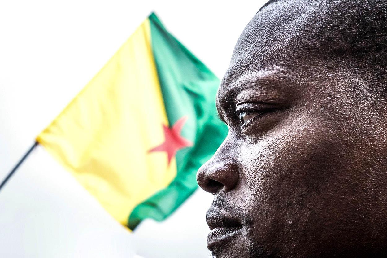 Proč se bouří Francouzská Guyana