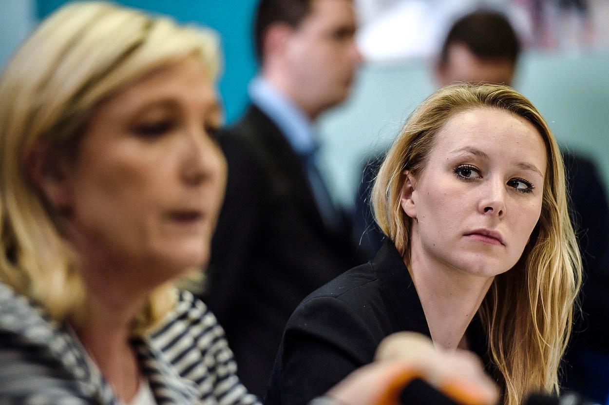 Zadupe mladá a drsná Le Penová svou tetičku Marine do země?