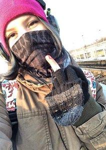 Předsmrtné selfie Riny jako vzkaz před sebevraždou