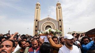 Pohřeb jedné z obětí útoku v Alexandrii