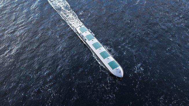 Bezpilotní nákladní loď z dílny Maritime Robotics