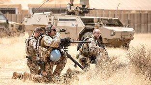 Němečtí příslušníci jednotek OSN v malijském Gao