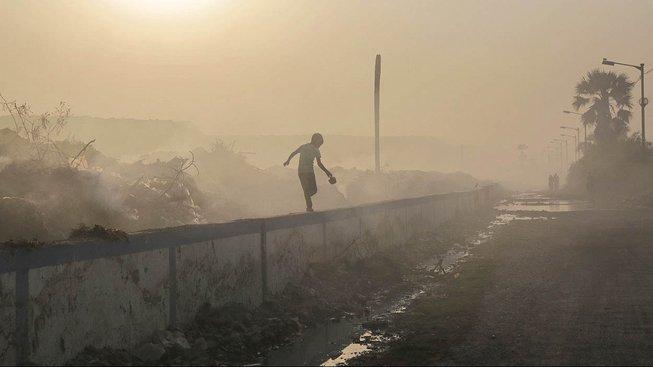 Polétavý prach vede k téměř čtyřem milionům předčasných úmrtí ročně. Ilustrační snímek