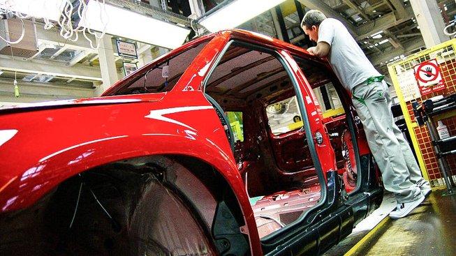 Továrna Škoda Auto. Ilustrační snímek
