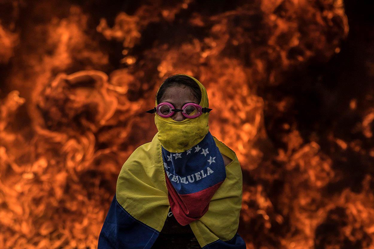Venezuelský pád do krvavé propasti