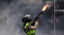 Krvavé protesty ve Venezuele
