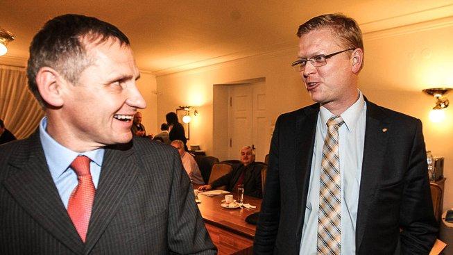 Jiří Čunek a Pavel Bělobrádek