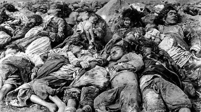 Počet obětí genocidy se odhaduje až na 1,5 milionu