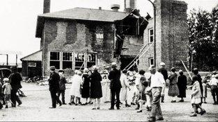 Škola po výbuchu