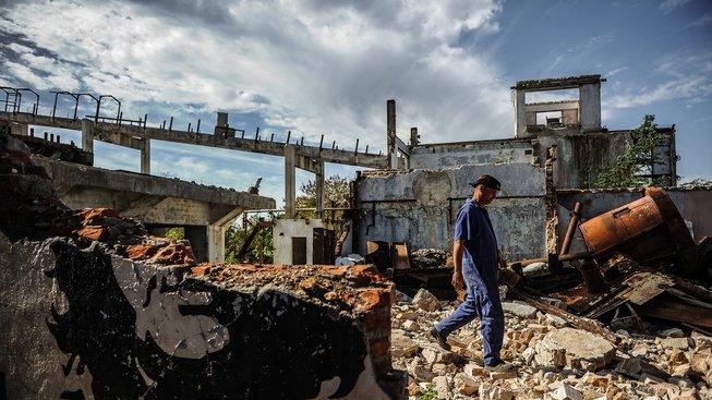 Cukrovar Cuba Libre v kubánské provincii Matanzas je v troskách