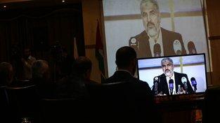 Vůdce hnutí Hamas Chálid Mišál dnes představil nový program