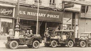 Americká armáda ve Vídni v roce 1945