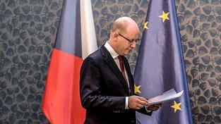 Premiér Sobotka ve čtvrtek odpoledne demisi nepodá