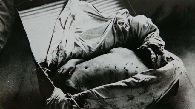 Část nalezeného těla Otýlie Vranské