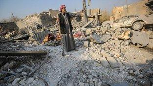 Rozvaliny iráckého Hamám al-Alílu