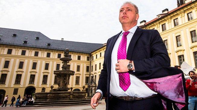 Ministr vnitra Milan Chovanec je přesvědčen, že jeho místo je teď v Praze