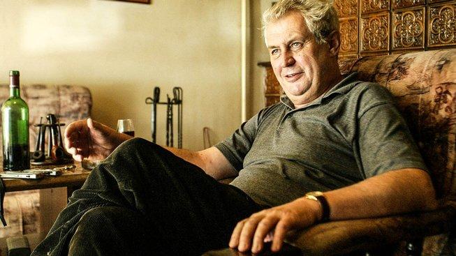 Archivní snímek Miloš Zeman