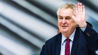 Prezident Miloš Zeman před odletem Číny přece jen ještě stihl promluvit