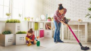 Nejužitečnějším domácím pomocníkem není vysavač, ani myčka