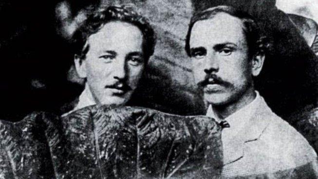 Otakar Nejedlý a Jaroslav Hněvkovský (1922)