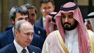 Ruský prezident se saúdským korunním princem
