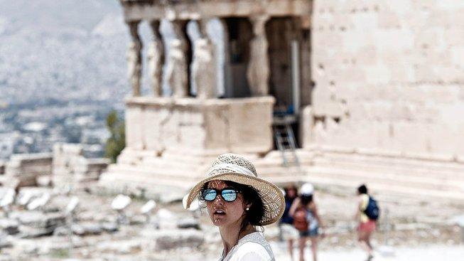 Řecko doufá ve vydařenou turistickou sezonu. Ilustrační snímek