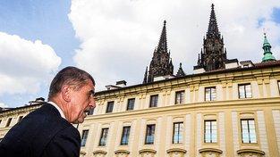 Ministr financí Andrej Babiš už čeká jen na Zemanovo odvolání