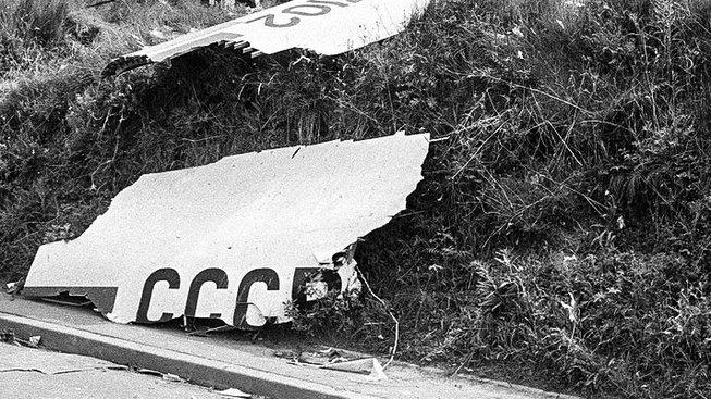 Havárie Tu-144 na pařížském aerosalónu v roce 1973