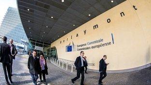 Berlaymont, sídlo Evropské komise v Bruselu