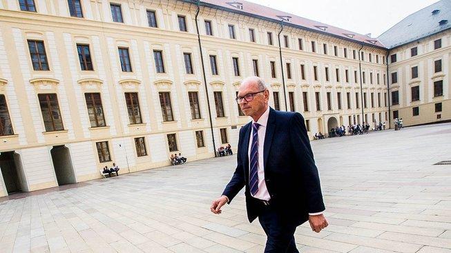 Ivan Pilný na Pražském hradě