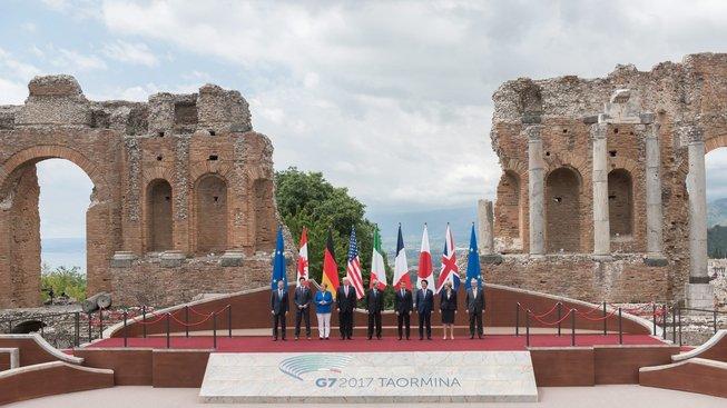 Sicilský summit G7 v rozvalinách?