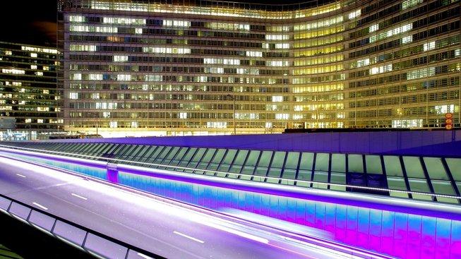 Sídlo Evropské komise, budova Berlaymont v Bruselu