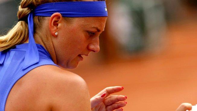Petra Kvitová v prvním kole French Open