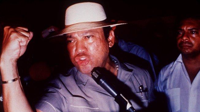 Manuel Noriega byl známý svými plamennými projevy