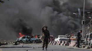 Atentát v diplomatické čtvrti Kábulu