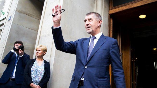 Andrej Babiš během svého posledního dne na Ministerstvu financí