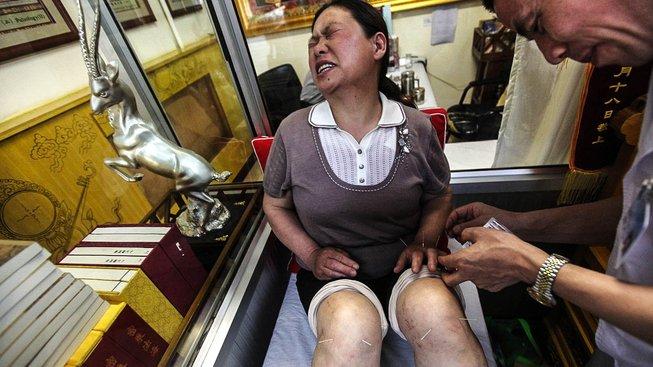 Tradiční tibetská medicína. Ilustrační snímek