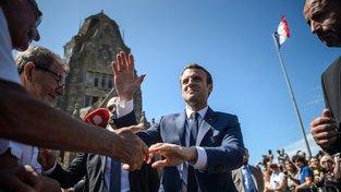 Hnutí Republika v pohybu ovládlo první kolo francouzských parlamentních voleb