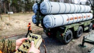 Ruský systém S-400 během vojenského cvičení v Kaliningradu