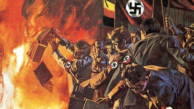 Nacisté nakradli stamiliony bezcenných knih. Proč to dělali?