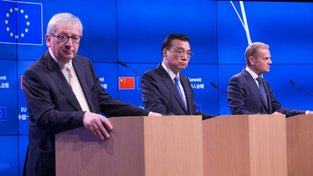 Evropská unie se s čínskými představiteli nedohodla ani v otázce globálního oteplování, ani v otázce volného trhu
