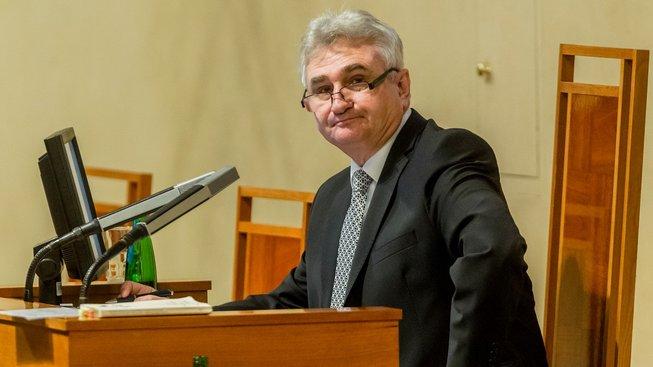 Předseda Senátu Milan Štěch, ilustrační snímek
