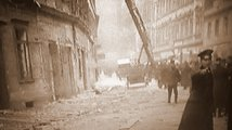 Výbuch uprostřed Prahy