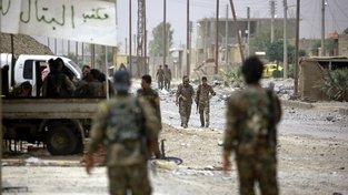 Oddíly SDF v Sýrii