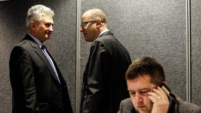 Po Sobotkovi ještě ani nestihlo vychladnout předsednické křeslo a Štěch (vlevo) už rozjel kampaň proti živnostníkům