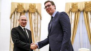 Mezi Ruskem a Srbskem panují tradičně dobré vztahy