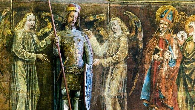 Svatý Václav ve svatovítské katedrále