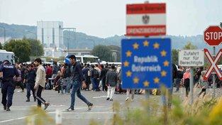 Rakouské hranice bojují s uprchlickou vlnou